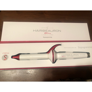 リュミエールブラン(Lumiere Blanc)のヘアビューロン♡2Dカール S(ヘアアイロン)