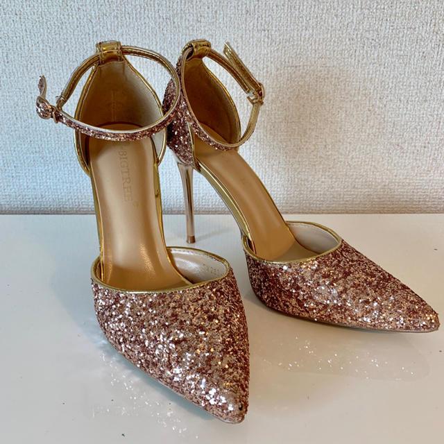 dazzy store(デイジーストア)のキラキラヒール レディースの靴/シューズ(ハイヒール/パンプス)の商品写真