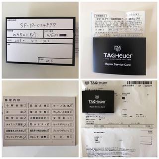 TAG Heuer - 【国内正規品】【メーカーメンテナンス済】タグ・ホイヤー カレラ WAR211B