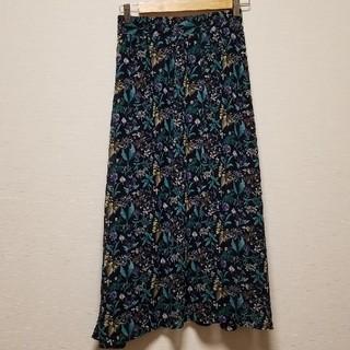しまむら - しまむら 花柄スカート sizeM ☆
