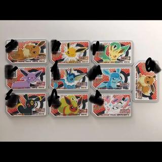 ポケモン(ポケモン)の【ポケモンセンター限定】ポケモンガオーレ イーブイフレンズ 全10種類コンプ(カード)