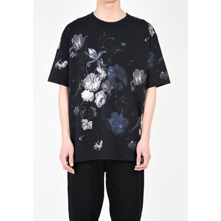 Lad musician 18SS 花柄Tシャツ