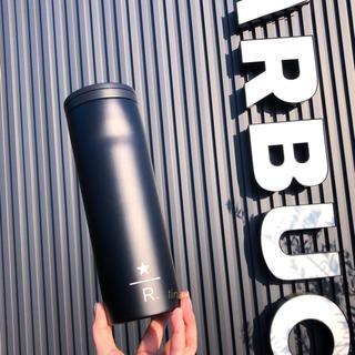 スターバックスコーヒー(Starbucks Coffee)のスターバックス リザーブ ステンレスタンブラー ブラック 黒 ステンレスボトル(タンブラー)
