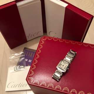 Cartier - カルティエタンクフランセーズ SM正規品美品