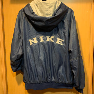 NIKE - 90's 白タグ アーチロゴ ナイロンパーカー コーチジャケット