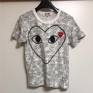 コムデギャルソン(COMME des GARCONS)のプレイ コムデギャルソン 半袖(Tシャツ(半袖/袖なし))