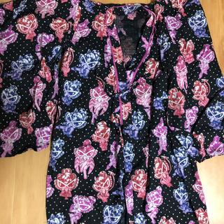 ヒステリックミニ(HYSTERIC MINI)のヒスミニセクシーミニ浴衣(甚平/浴衣)