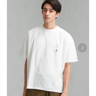 グラミチ(GRAMICCI)の別注 [グラミチ]GRAMICCI ロゴ ポケットTシャツ 5分袖(Tシャツ/カットソー(半袖/袖なし))