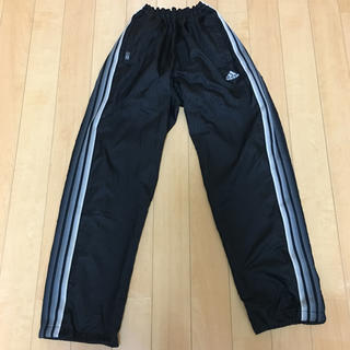 adidas - アディダス adidas ブラック ジャージ下 Oサイズ