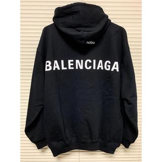 バレンシアガ(Balenciaga)の新品【 Balenciaga 】Logo Hoodie バレンシアガ S(パーカー)