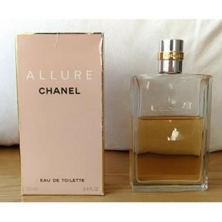 CHANEL - 値下げ♪送料込★CHANEL アリュール オードトワレ 香水★半分以上あります