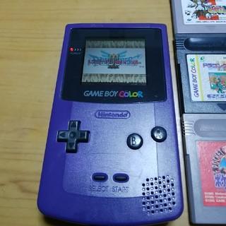 ゲームボーイ(ゲームボーイ)のゲームボーイカラー ソフト10本セット(携帯用ゲーム本体)