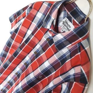 ヴィヴィアンウエストウッド(Vivienne Westwood)の日本製★Vivienne Westwood MAN チェックシャツ(シャツ)