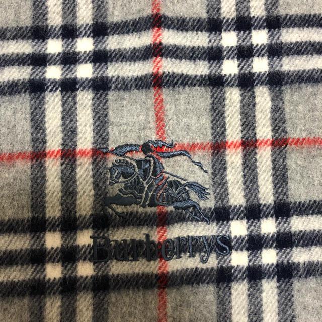 BURBERRY(バーバリー)の【超美品】BURBERRY 90s 大判 ブランケット マフラー メンズのファッション小物(マフラー)の商品写真