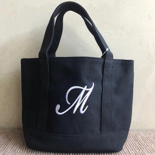 しまむら - 新品 完売 しまむら ミニ トートバッグ キャンバス 黒 M エルエルビーン
