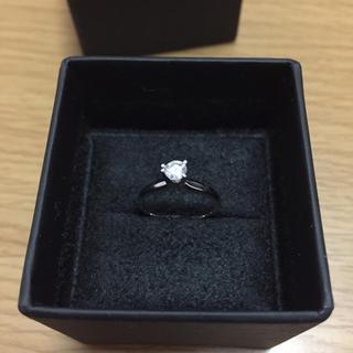 K10wg ダイヤモンドリング(リング(指輪))