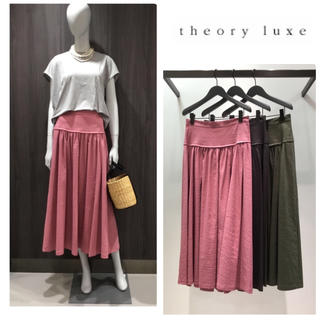 Theory luxe - 【未使用品】2018ss theory luxe フレア スカート
