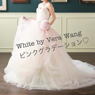 Vera Wang - White by Vera wangピンクグラデーションドレス♡vw351322