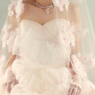 Vera Wang - White by Vera Wang♡レースサッシュとヘッドドレス♡追加画像