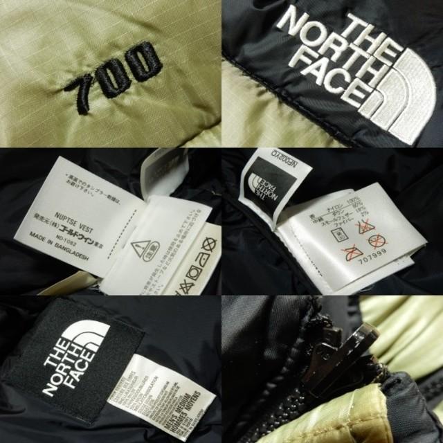 THE NORTH FACE(ザノースフェイス)の現行復刻!ノースフェイスTHE NORTH FACE ヌプシダウンベスト700 メンズのジャケット/アウター(ダウンベスト)の商品写真