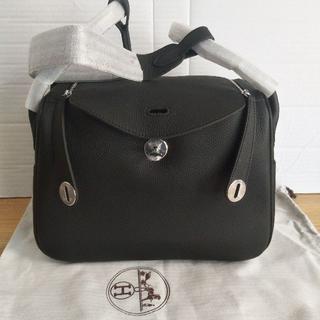 Hermes - ブラック シルバー トリヨンクレマンス リンディ 30センチ