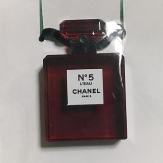 CHANEL - シャネルパフューム【チャーム】RED LIMITED EDITIonキーホルダー