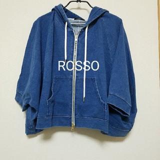 ロッソ(ROSSO)のRosso ドルマンパーカー(パーカー)