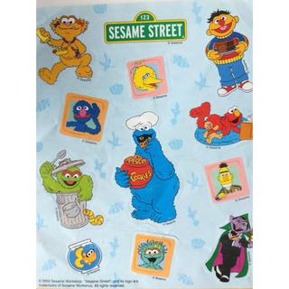 セサミストリート(SESAME STREET)のSESAME STREET グリコ Pingu チーバ君 他 シール 色々(シール)