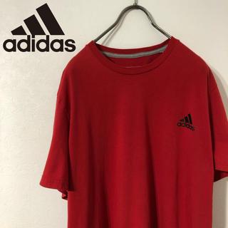 アディダス(adidas)の古着 adidas パフォーマンスロゴ プリント Tシャツ(Tシャツ/カットソー(半袖/袖なし))
