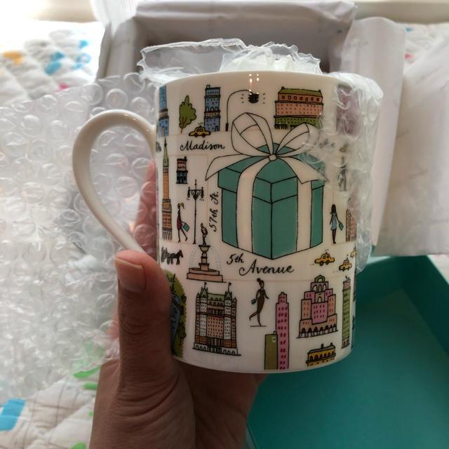 Tiffany & Co.(ティファニー)のティファニー マグカップ インテリア/住まい/日用品のキッチン/食器(グラス/カップ)の商品写真