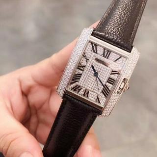 カルティエ(Cartier)のカルティエ タンク腕時計 クォーツ(腕時計)