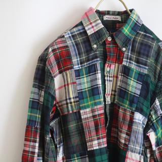 ラルフローレン(Ralph Lauren)の【RALPH LAUREN】パッチワークシャツ M相当☆(シャツ)