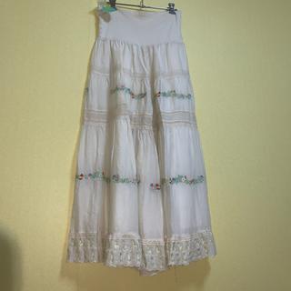 フランシュリッペ(franche lippee)のシェリーラファム  刺繍とレースのパンツ(その他)