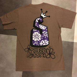 ステューシー(STUSSY)のSTUSSY Tシャツ S サイズ ブラウン ステューシー(Tシャツ/カットソー(半袖/袖なし))