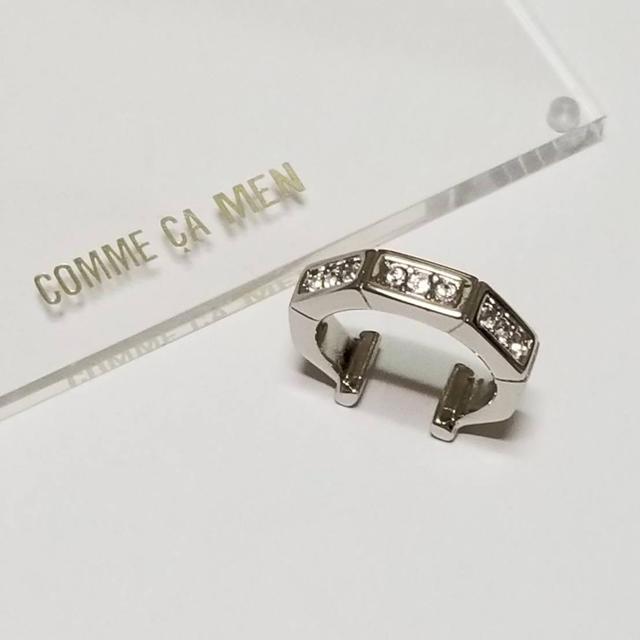 COMME CA MEN(コムサメン)の【新品・未使用】コムサ メン リング メンズのアクセサリー(リング(指輪))の商品写真