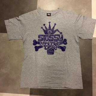 ステューシー(STUSSY)のSTUSSY Tシャツ S サイズ グレー ステューシー(Tシャツ/カットソー(半袖/袖なし))