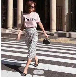 エイミーイストワール(eimy istoire)のエイミー♡ダルメシアンスカート♡(ひざ丈スカート)