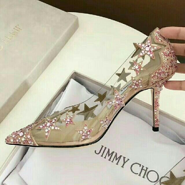 JIMMY CHOO(ジミーチュウ)のjimmy chooハイヒール37サンダル レディースの靴/シューズ(ハイヒール/パンプス)の商品写真