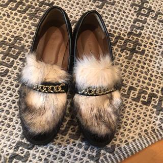 レプシィム(LEPSIM)のレプシムファーローファー(ローファー/革靴)