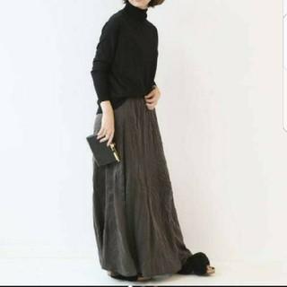 ドゥーズィエムクラス(DEUXIEME CLASSE)のドゥーズィエムクラス シルクマキシスカート(ロングスカート)