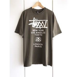 ステューシー(STUSSY)の【希少】ステューシー/STUSSY『WT』ワールドツアー ビッグTシャツ/XL(Tシャツ/カットソー(半袖/袖なし))