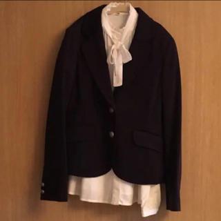 クミキョク(kumikyoku(組曲))のオンワード 組曲 女児 ブレザー&ブラウス セット出品 140 150 (ジャケット/上着)