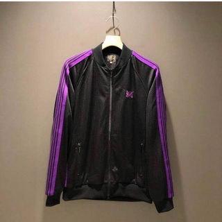 ニードルス(Needles)のBEAMS NEEDLES  Track Jacket 別注 BLACK L (ジャージ)