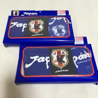 ボクサーパンツ 90 3枚組×2個セット サムライブルー 日本代表 サッカー(下着)