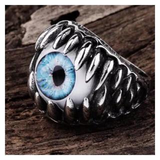眼球リングブルーアイ(リング(指輪))