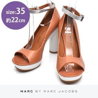 マークバイマークジェイコブス(MARC BY MARC JACOBS)の新品❤️マークバイマークジェイコブス サンダル パンプス 35(約22cm)(ハイヒール/パンプス)