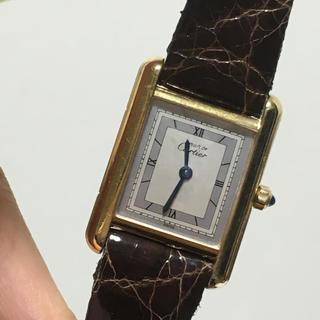 カルティエ(Cartier)のカルティエ 時計 マストタンク(腕時計)