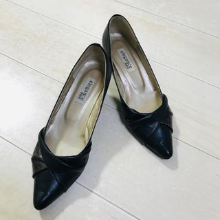 エレガンスヒミコ(elegance卑弥呼)のパンプス 黒 ブラック 卑弥呼 24(ハイヒール/パンプス)