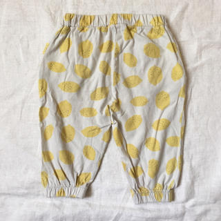 monmimi - 韓国子供服 レモン柄パンツ