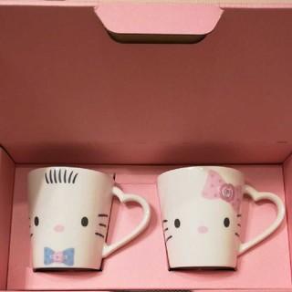 サンリオ - キティ&ダニエル ペアマグカップ